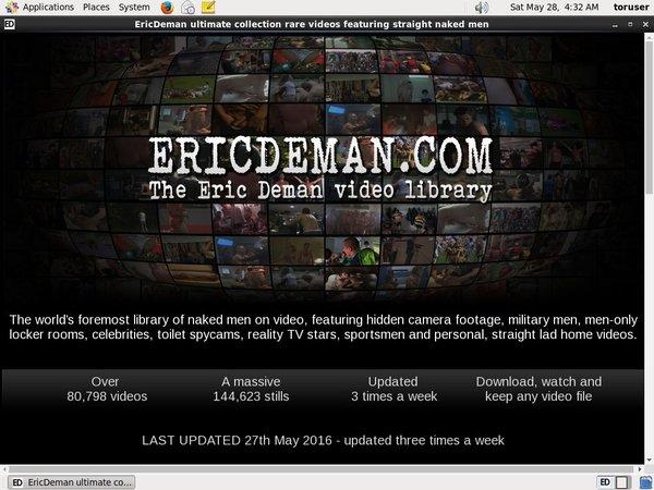 Eric Deman Premium Password