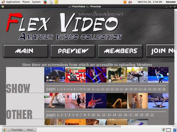 Flexvideo With Discover Card