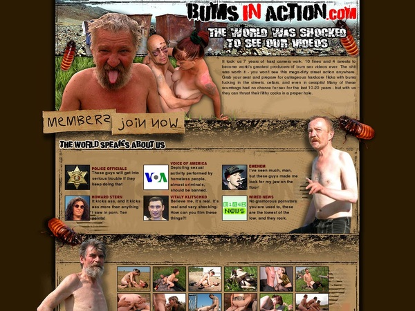 Get A Free Bums In Action Account