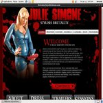 Julie Simone Sign Up Link