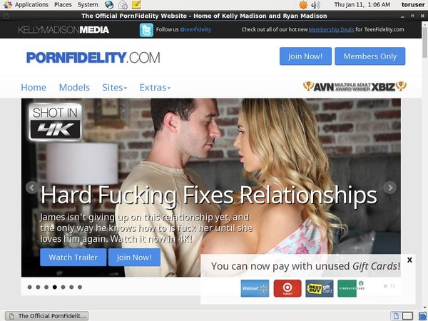 Pornfidelity Updated Passwords