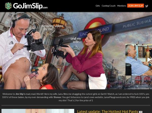 Free Working Go Jim Slip Accounts