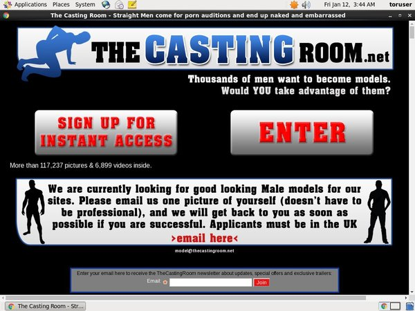 The Casting Room Hack Account