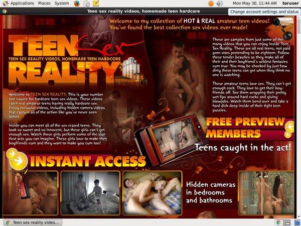 Teen Sex Reality Webcams