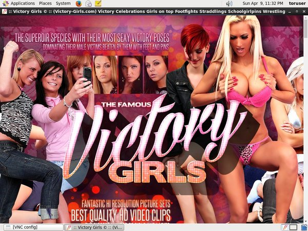 Victorygirls Foot On Face