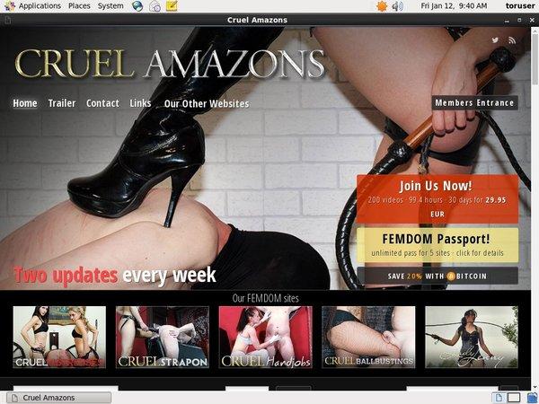 Cruel Amazons Gratuito