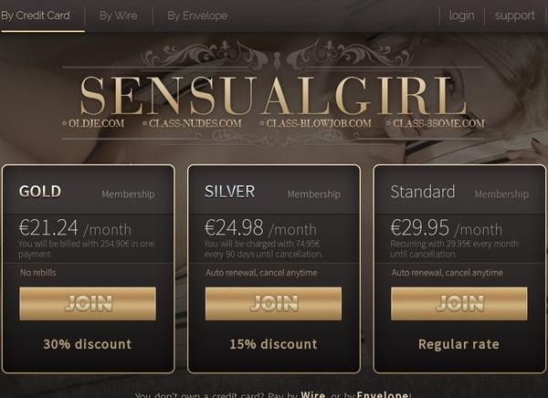 Free Login Sensualgirl