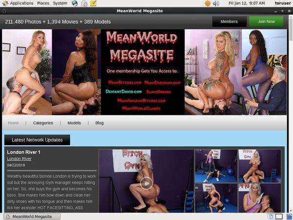 Meanworld.com Free Pw