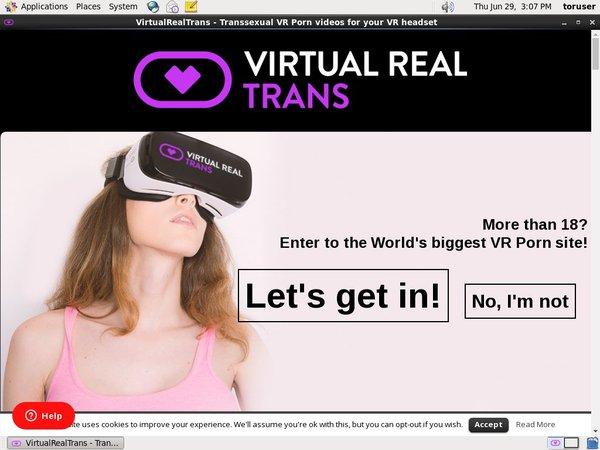 Virtual Real Trans Logins Free