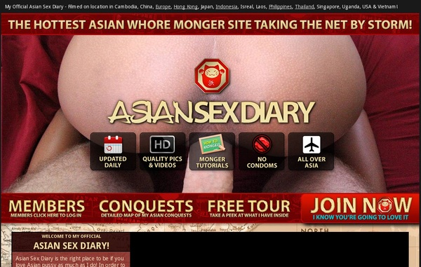 How To Get Free Asiansexdiary.com