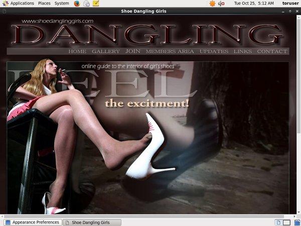 Passwords To Shoe Dangling Girls