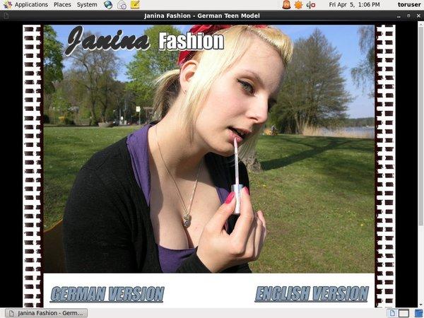 Free Janina Fashion Account Password